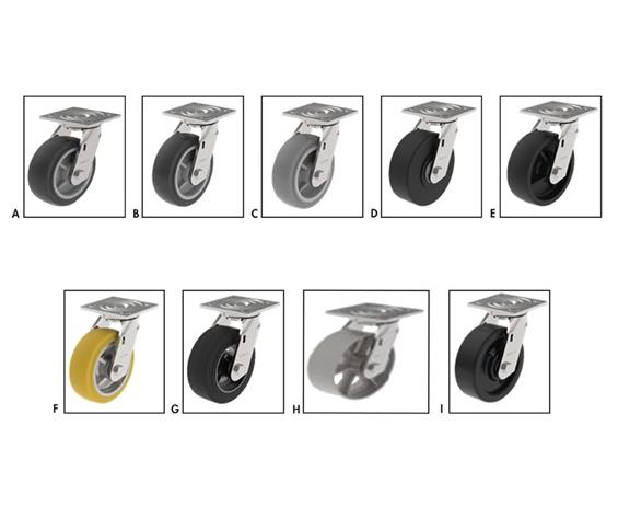 ROLLER BEARING CASTERS