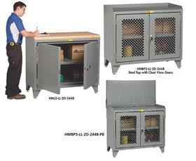 """48"""" WIDE COUNTER HEIGHT BENCH CABINETS"""