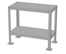 WELDED STEEL MACHINE TABLES